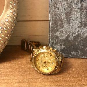 Gold Michael Kors Watch Classic